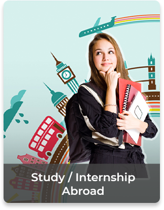 Study / Internship Abroad  • Teaching staff • Sharing resources and    experiences • Industry and academic    network